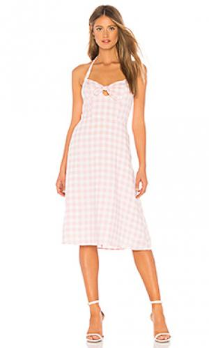 Платье annelise BB Dakota. Цвет: розовый