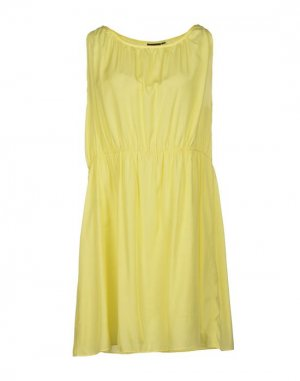 Короткое платье FRANSA. Цвет: желтый