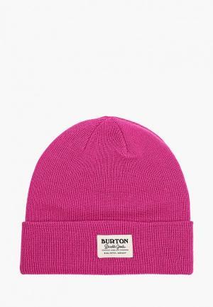 Шапка Burton KACTSBNCH TALL. Цвет: розовый
