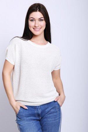 Пуловер Pezzo. Цвет: белый