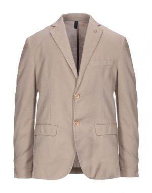 Пиджак HARMONT&BLAINE. Цвет: бежевый