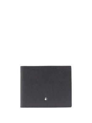 Бумажник с логотипом Montblanc. Цвет: серый