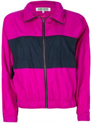 Ветровка Kenzo. Цвет: розовый и фиолетовый