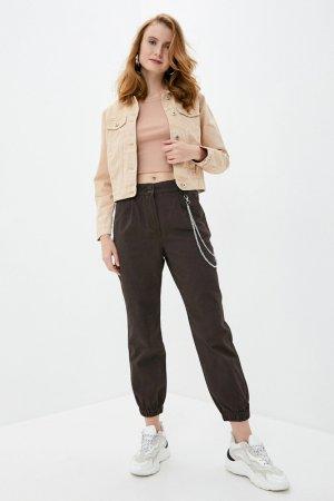 Куртка джинсовая befree. Цвет: 62, бежевый