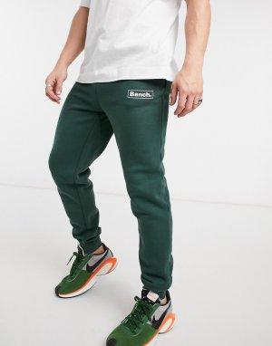Зеленые джоггеры с логотипом (от комплекта)-Зеленый цвет Bench