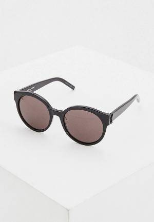 Очки солнцезащитные Saint Laurent SL M31 001. Цвет: черный