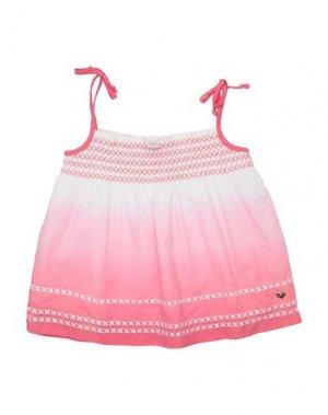 Блузка FRACOMINA MINI. Цвет: розовый