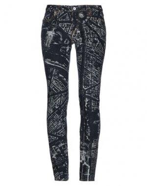 Джинсовые брюки ISSEY MIYAKE. Цвет: синий
