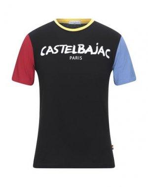 Футболка CASTELBAJAC. Цвет: черный