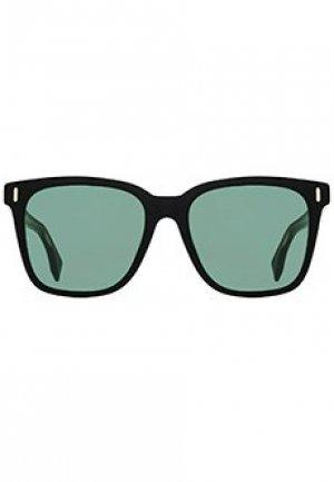 Очки FENDI. Цвет: зеленый