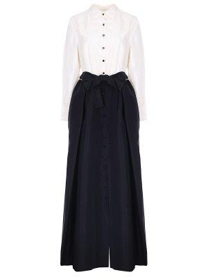 Платье шелковое CAROLINA HERRERA