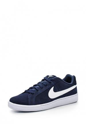 Кеды Nike MENS COURT ROYALE SUEDE SHOE. Цвет: синий