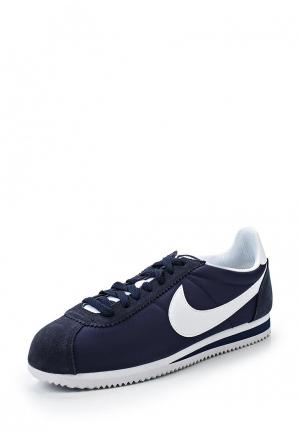 Кроссовки Nike CLASSIC CORTEZ NYLON MENS SHOE. Цвет: синий