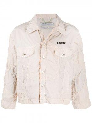 Куртка Climb Tech Off-White. Цвет: серый