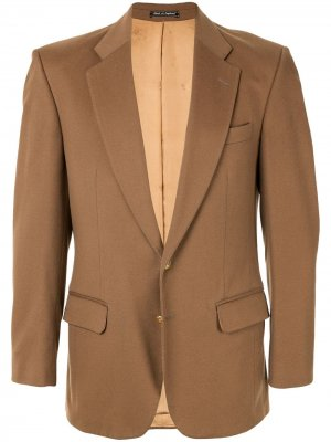 Пиджак с длинными рукавами Burberry Pre-Owned. Цвет: коричневый