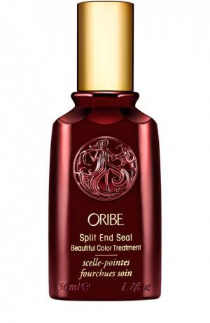 Полирующая сыворотка для секущихся кончиков окрашенных волос Oribe. Цвет: бесцветный