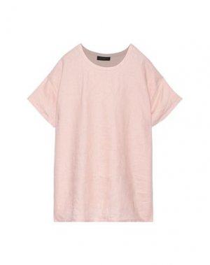 Блузка DONNA KARAN. Цвет: светло-розовый