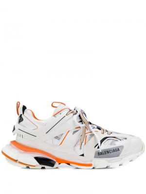 Track sneakers Balenciaga. Цвет: белый