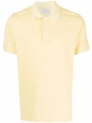 Рубашка поло с вышитым логотипом Jacob Cohen. Цвет: желтый