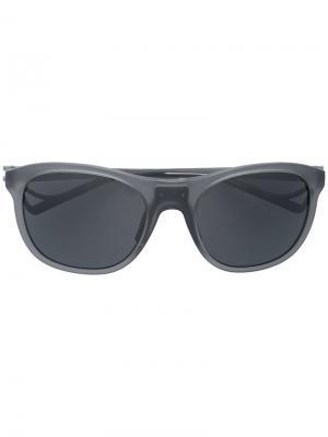 Солнцезащитные очки Nako District Vision. Цвет: серый
