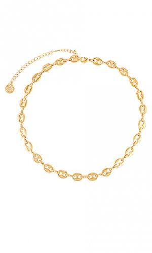 Ожерелье bay Cloverpost. Цвет: металлический золотой