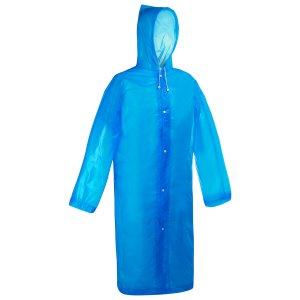 Дождевик-плащ взрослый, размер 46-48, цвет синий Maclay