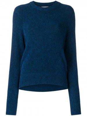 Пуловер с асимметричным подолом 3.1 Phillip Lim. Цвет: синий