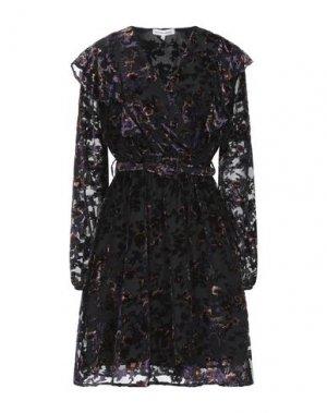 Короткое платье SILVIAN HEACH. Цвет: черный