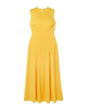 Длинное платье JASON WU. Цвет: желтый