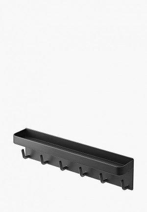 Ключница настенная Yamazaki SMART 25х6 см. Цвет: черный