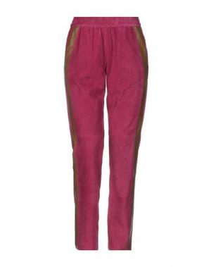 Повседневные брюки ENES. Цвет: пурпурный