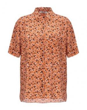 Pубашка GOSSIP. Цвет: ржаво-коричневый