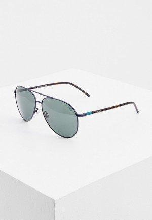 Очки солнцезащитные Polo Ralph Lauren PH3131 930371. Цвет: синий