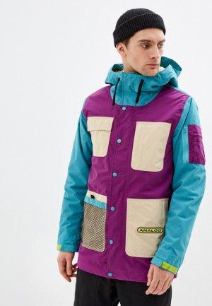 Куртка утепленная Analog M AG SOLITARY JK. Цвет: разноцветный