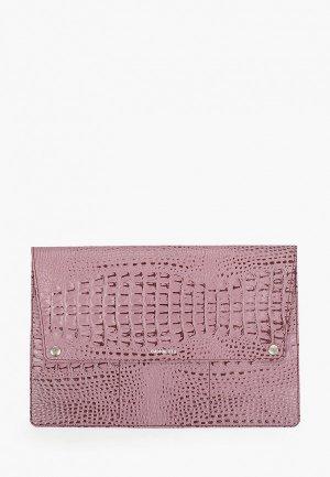 Обложка для документов Cashalots формат А4. Цвет: розовый