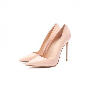 Кожаные туфли Le Silla. Цвет: розовый