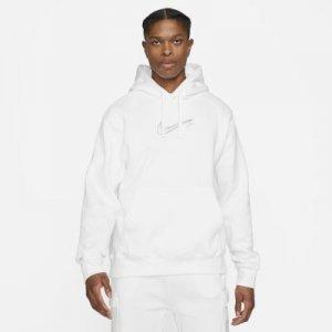Мужская флисовая худи Nike Sportswear Court - Белый
