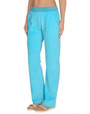 Пляжные брюки и шорты VERSACE. Цвет: небесно-голубой