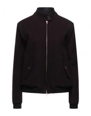 Куртка BARACUTA. Цвет: баклажанный