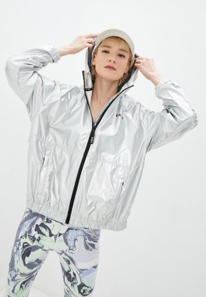 Ветровка DKNY. Цвет: серебряный