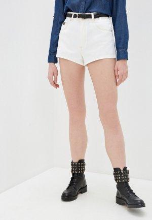 Шорты джинсовые Versace Jeans Couture. Цвет: белый