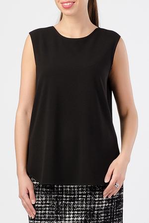 Блузка TUZUN. Цвет: черный