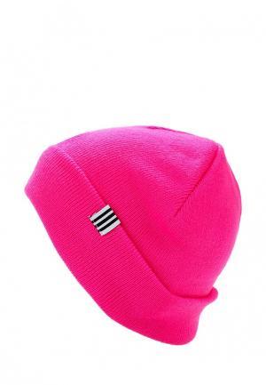 Шапка adidas Originals KIDS BEANIE. Цвет: розовый