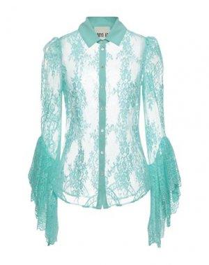 Pубашка ANIYE BY. Цвет: бирюзовый