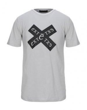 Футболка EXTE. Цвет: серый