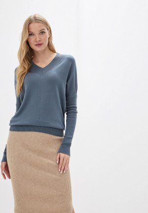 Пуловер MaryTes. Цвет: серый