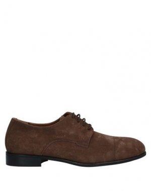 Обувь на шнурках BRUNO MAGLI. Цвет: хаки