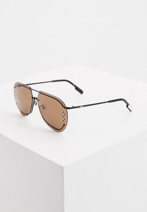 Очки солнцезащитные Kenzo KZ 40058U. Цвет: черный