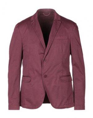 Пиджак HAMAKI-HO. Цвет: баклажанный
