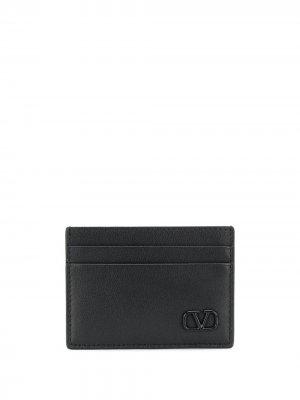 Картхолдер с логотипом VLogo Valentino Garavani. Цвет: черный